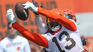 Odell Beckham Jr. Day 1 highlights from Browns Training Camp