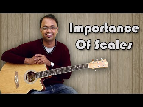 Importance Of Scales - Guitar Lesson For Beginners