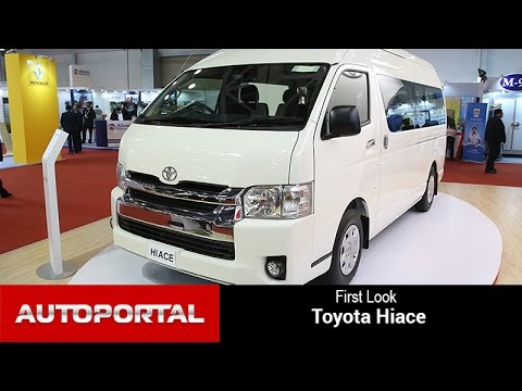 Toyota Hiace First Look - Autoportal