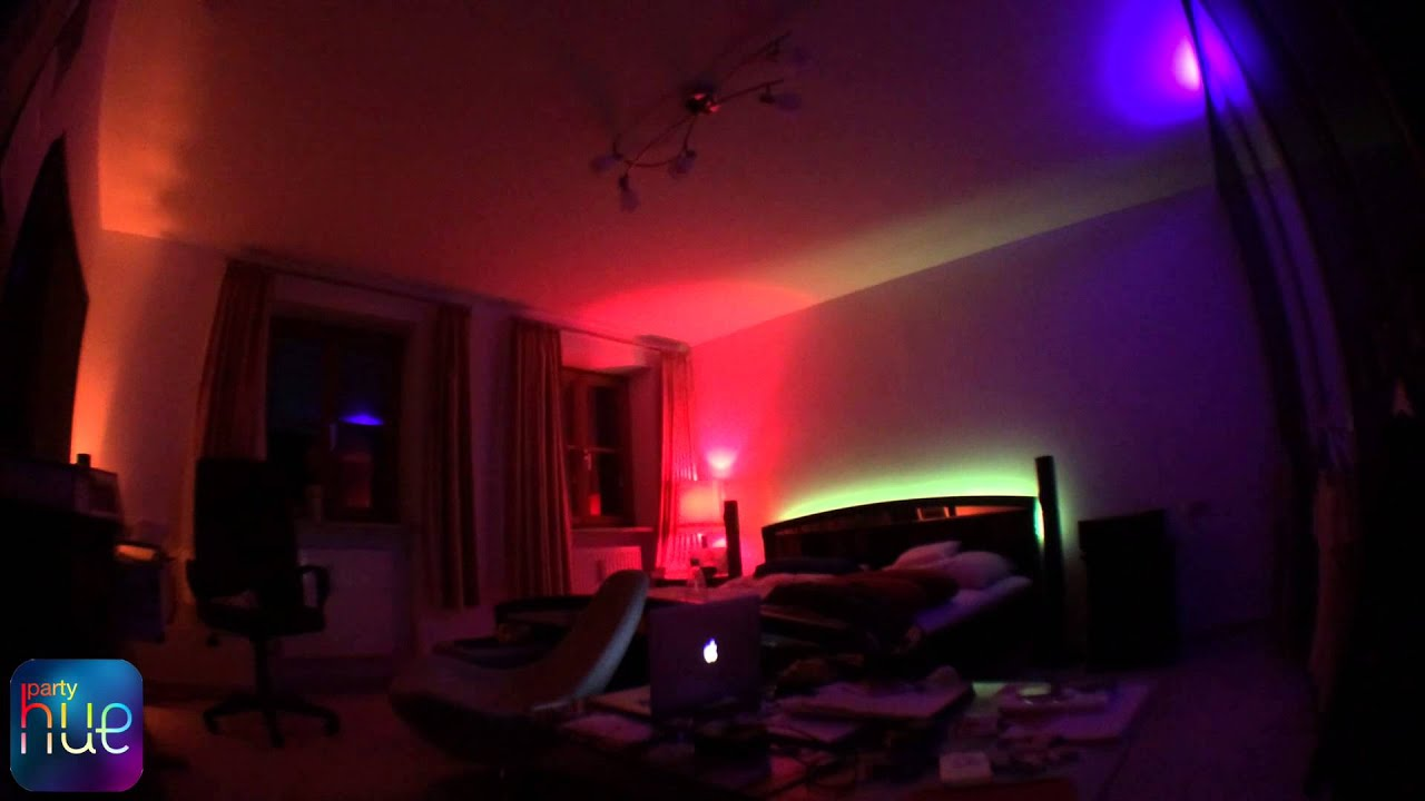 Philips Hue Quot Hue Party Quot App For Ios Demo Youtube