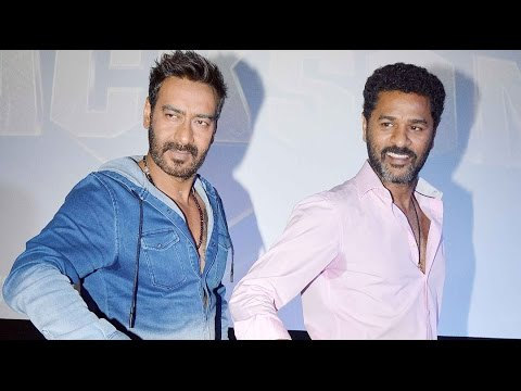 Ajay Devgn's Famous Dialogues And Prabhu Deva's Moves In Action Jackson Theme Song