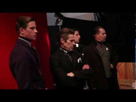 PRADA FALL/WINTER 2012 MENS ADVERTISING CAMPAIGN: MAKING OF VIDEO