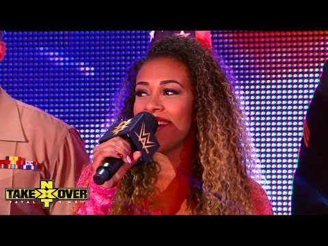 JoJo sings the National Anthem: NXT TakeOver: Fatal 4-Way, Sept. 11, 2014
