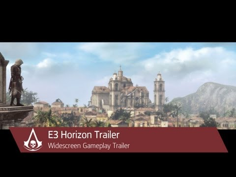 E3 Horizon Trailer | Assassin's Creed 4 Black Flag [North America] 2013