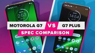 Motorola G7 vs. G7 Plus: Spec comparison