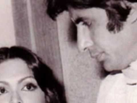 Amitabh and Parveen Babi friendship.