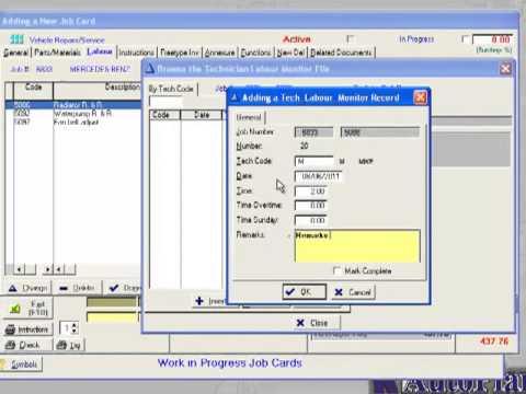 autoplan workshop management software for garages auto