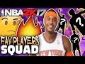 TOP 10 FAVORITE PLAYERS OF ALL-TIME! NBA 2K17 SQUAD BUILDER -