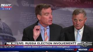 Russia Senate Select Committee on Intelligence Briefing Over Possible Trump Election Fraud (FNN)