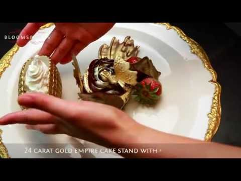 THE MOST EXPENSIVE  EDIBLE  CUPCAKE IN THE WORLD Making of The Golden Phoenix