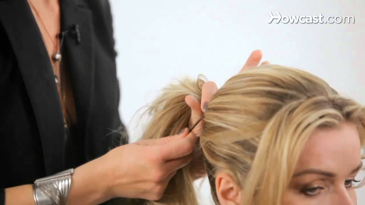 how to create a messy ponytail cute hairstyles youtube