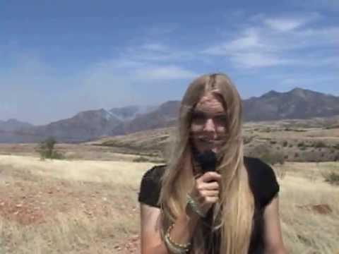 Patagonia, AZ WildFire 5-23-13