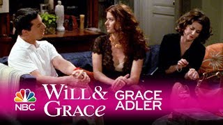 Will & Grace - Grace Finds Serenity in Pain (Highlight)