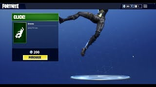 NEW CLICK EMOTE/DANCE (Fortnite Battle Royale)