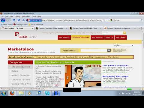 Make Money With Clickbank FAST EASY FREE ONLINE