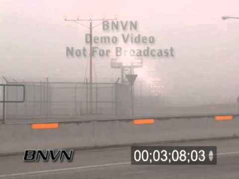 12/27/2005 Aviation related fog video, Des Moines Iowa