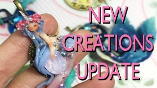 NEW FIMO CREATIONS UPDATE - NinaCreations