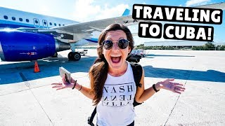 Americans Traveling to Cuba in 2019 | Cancun to Havana
