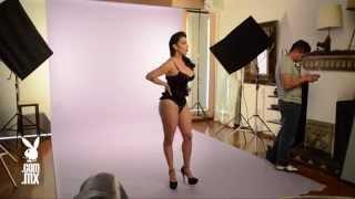 Sugey Abrego en Playboy México | Backstage