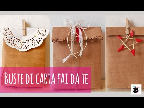 Come fare una busta regalo
