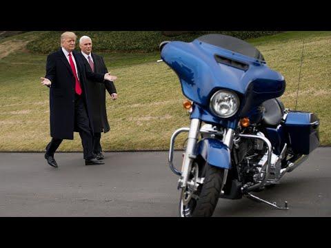 Trump reverses position on Harley-Davidson