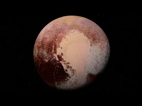 Exotic Ice Formations Found on Pluto