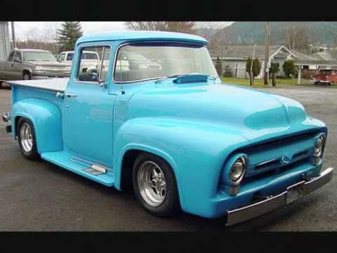 1956 ford f100 big window outstanding truck sold youtube for 1956 ford big window