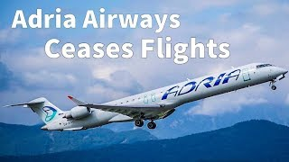 OFFICIAL: Adria Airways FILES FOR BANKRUPTCY
