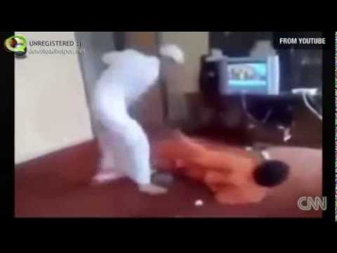 Saudi Man Beats Servant video