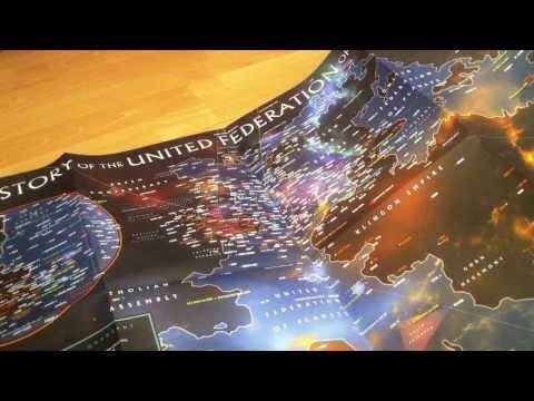 Unboxing Star Trek Stellar Cartography by Larry Nemecek