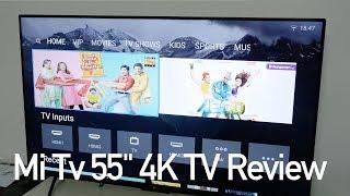 "Xiaomi Mi TV 4 - 55"" HDR 4K Smart TV Review"