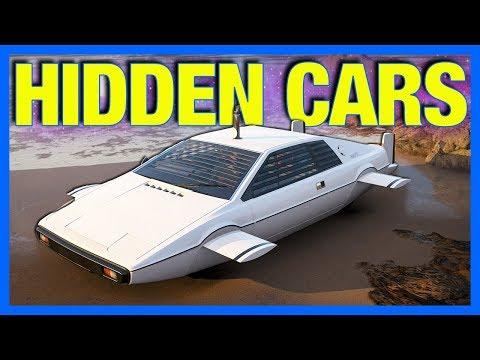 Forza Horizon 4: James Bond Cars & Secret Hidden Cars!!