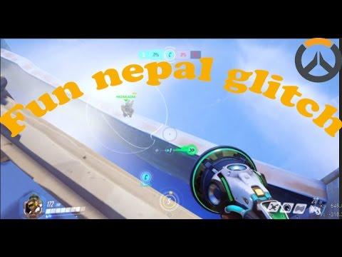Fun Nepal glitch on Overwatch!