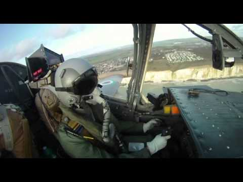 Strikemaster Fast Jet Flight Brighton to Beachy Head In-Cockpit Video