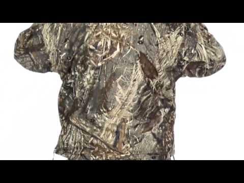 Drake MST Fleece-Lined Camo Pullover Jacket - Zip Neck (For Men)