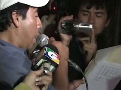 2o. Día Movilización de San Juan Sacatepequez 14-07-2009