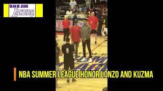Lakers: Javale McGee here! Greets Lonzo, Kuz, Pelinka