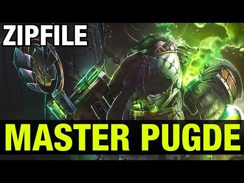 ZIPFILE, THE MASTER PUDGE - Dota 2