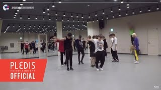 [INSIDE SEVENTEEN] 'HIT' Dance Practice Behind