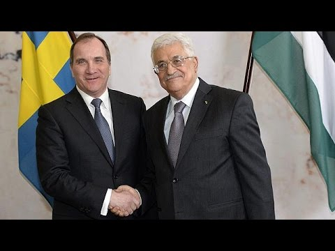 Abbas Visits Stockholm After Swedes Recognise Palestinian Statehood video