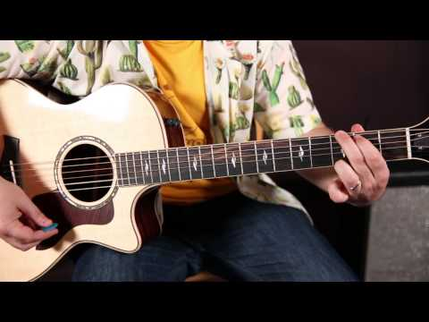 Elton John - Tiny Dancer - How to Play on Guitar - Acoustic Songs Guitar Lessons