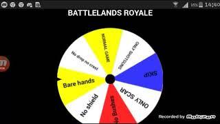 BATTLELANDS ROYALE #13 Spin The Wheel Challange