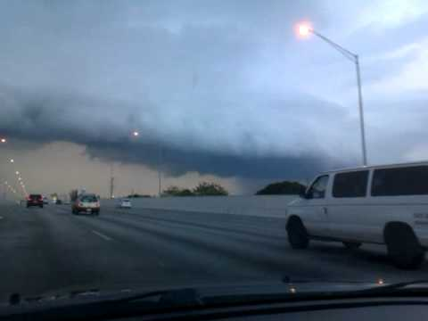 One great wall of a storm!