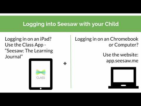 Seesaw Distance Learning Video for Families