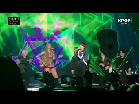 [HOT] SUPER JUNIOR - Lo Siento (Feat. Leslie Grace & Play-N-Skillz) 180424 Fancam