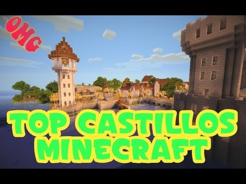 Minecraft ☆TOP 3 CASTILLOS☆ + Descarga | ikergarcia1996