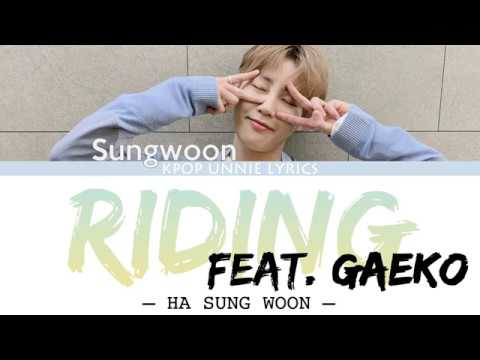 Download Ha Sung Woon 하성운  – Riding Feat. Gaeko Color Coded s Han/Rom/Eng/가사 Mp4 baru