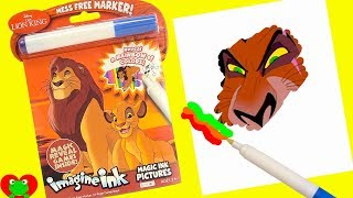 The Lion King Coloring Games Imagine Ink Magic Marker and Surprises