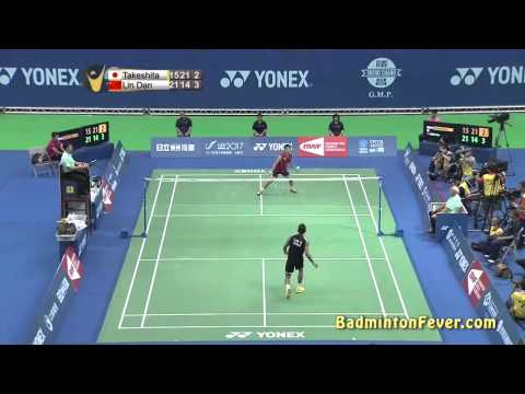 Badminton Highlights - Lin Dan Vs Riichi Takeshita - 2014 Taipei Open Sf-ms video