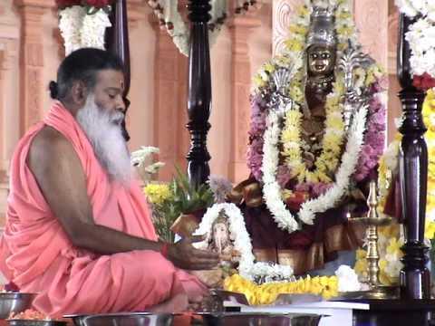Sri Chakra Puja Sri Ganapathy Sachchidananda Swamiji